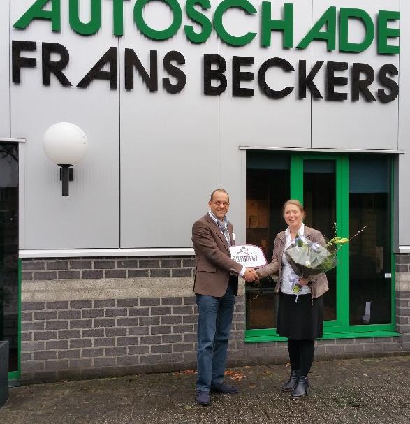 Francis Beckers (r) en Sjoerd van Esch